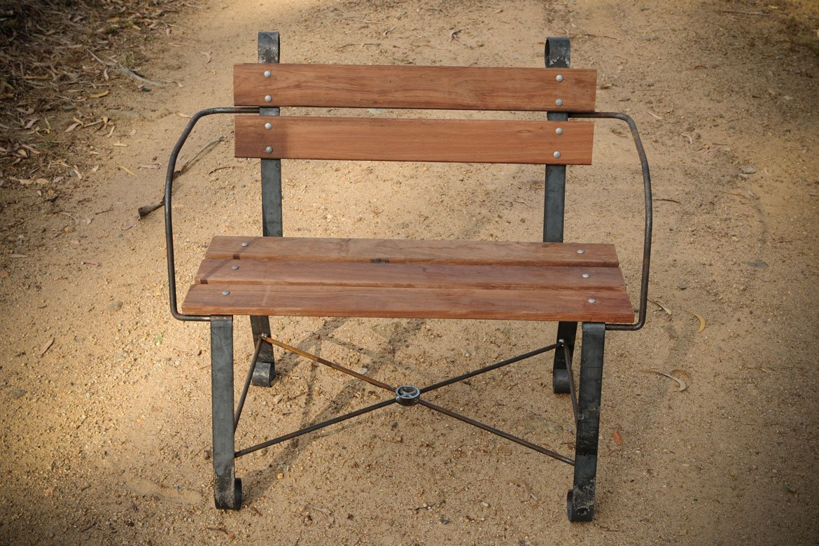 Handcrafted single seat